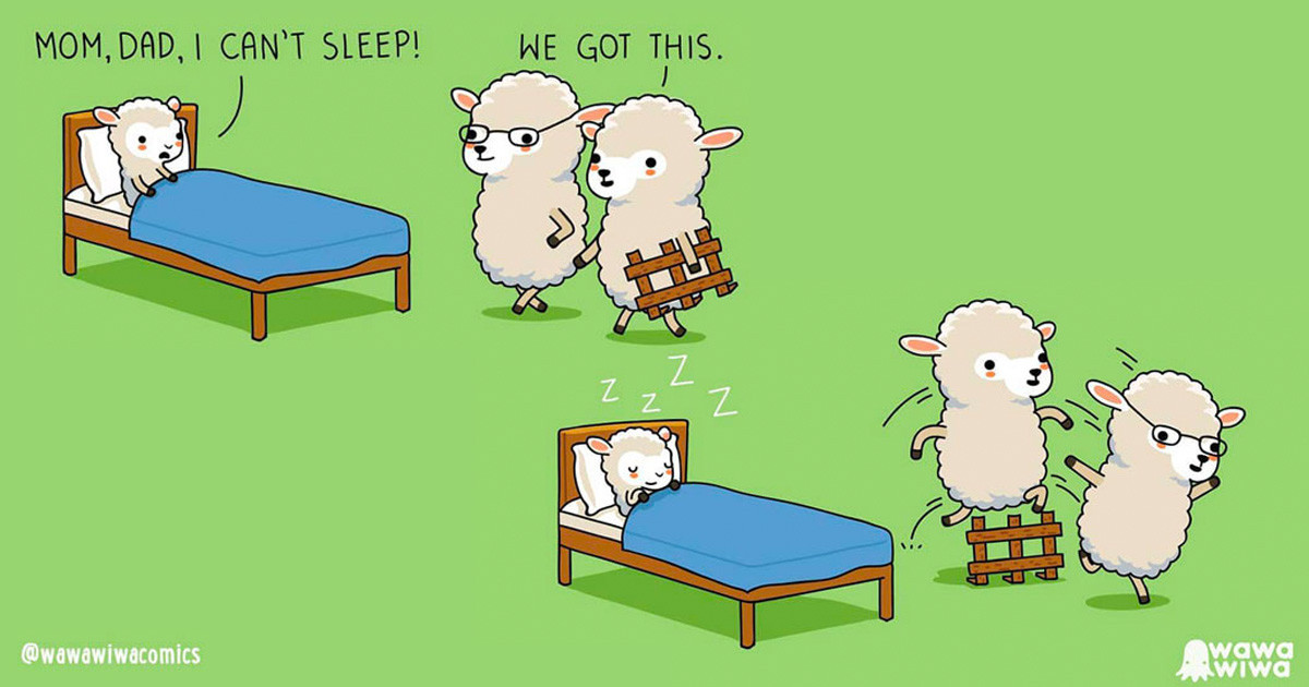Adorable Comics Depict Everyday Situations In A Cute And Different Way