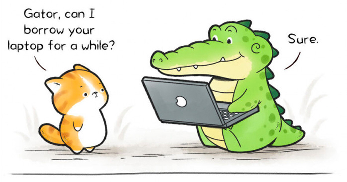 These Heartwarming Comics About Buddy Gator Are Taking Over The Internet