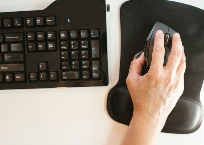 Keyboards/mouses are built with male sizes in mind, increasing rates of carpal tunnel/tendinitis in females.