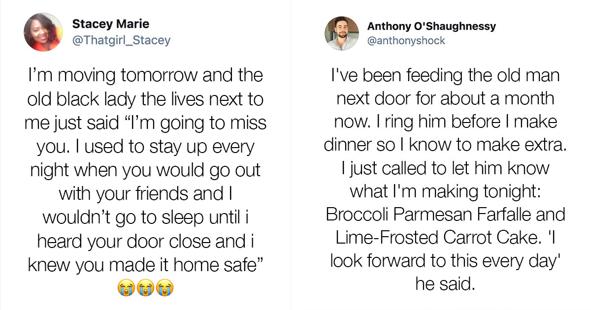 Stories About People's Neighbours Acting With Kindness That It Has Restored Our Faith In Humanity