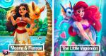 Disney Princesses Get Paired With The Perfect Eevee Evolutions Thanks To Two Incredible Artists