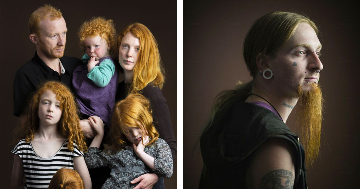 For 7 Years, This Photographer Has Been Capturing The World's Gingers For All To See