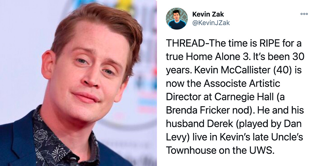 """Man Comes Up With An Epic Plot For A """"Home Alone"""" Sequel, And 73K Twitter Users Are On Board"""