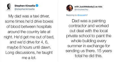 """People Answer """"What Perks Did You Enjoy As A Kid Because Of Your Parents' Job?"""" In Crazy Viral Twitter Thread"""