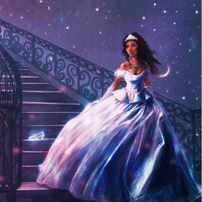 33. Brandy as Cinderella