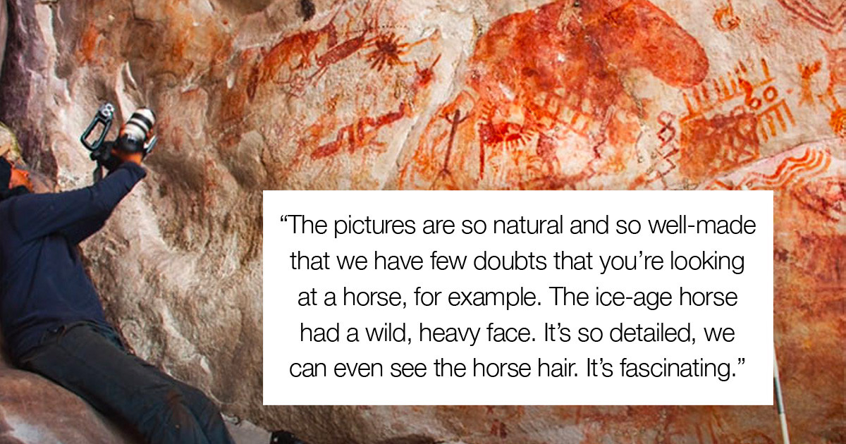 8-Mile Long Prehistoric Painting Has Been Discovered In Remarkable Condition Deep In The Amazon