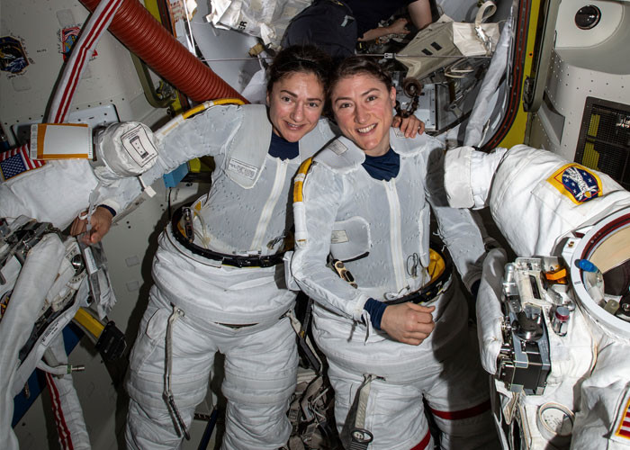 NASA had to cancel its first all-female spacewalk because they didn't have enough women-sized spacesuits.