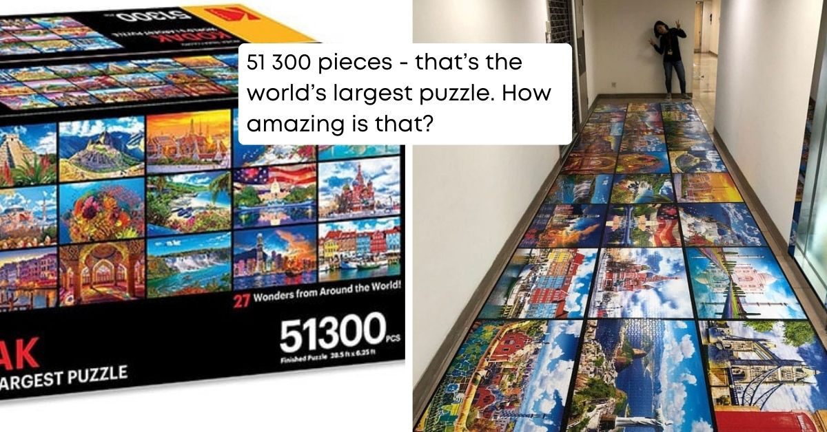 KODAK Has Released A 51300-Piece Puzzle, And We Are Obsessed With It