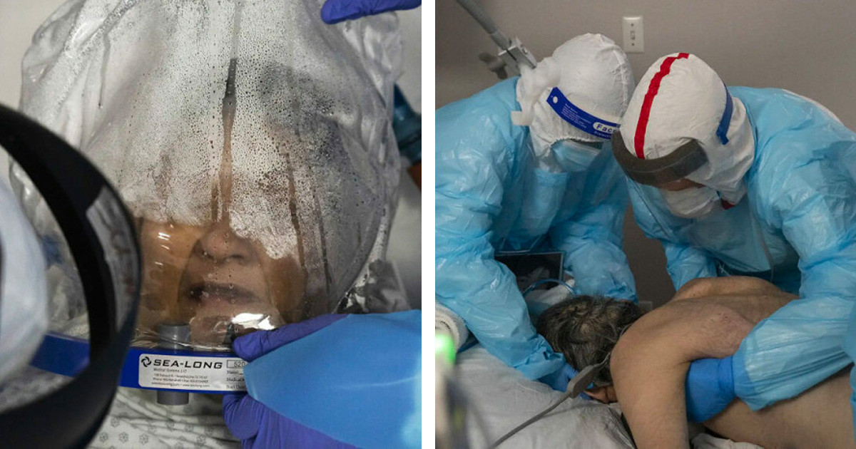 Texas Photographer Captures And Shares Photos Of The Shocking Reality Of COVID-19 At US Hospitals
