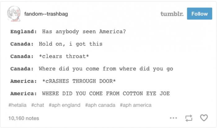 8. Cotton Eye Joe