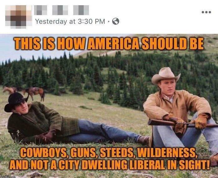 21. Those cowboys.....