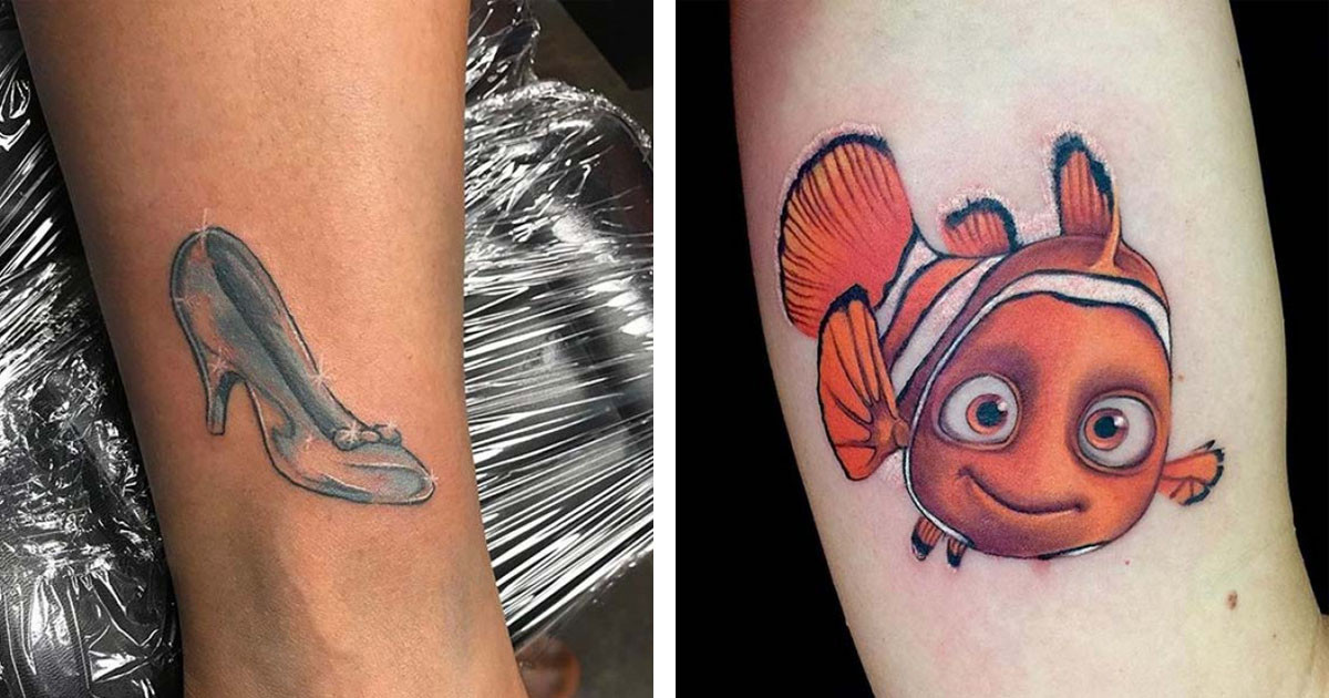 Disney Tattoos That Look So Realistic You'll Be Doing a Double Take