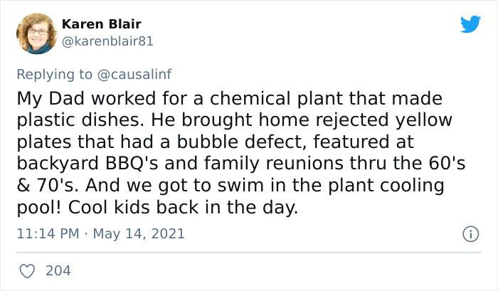 Plant worker dad