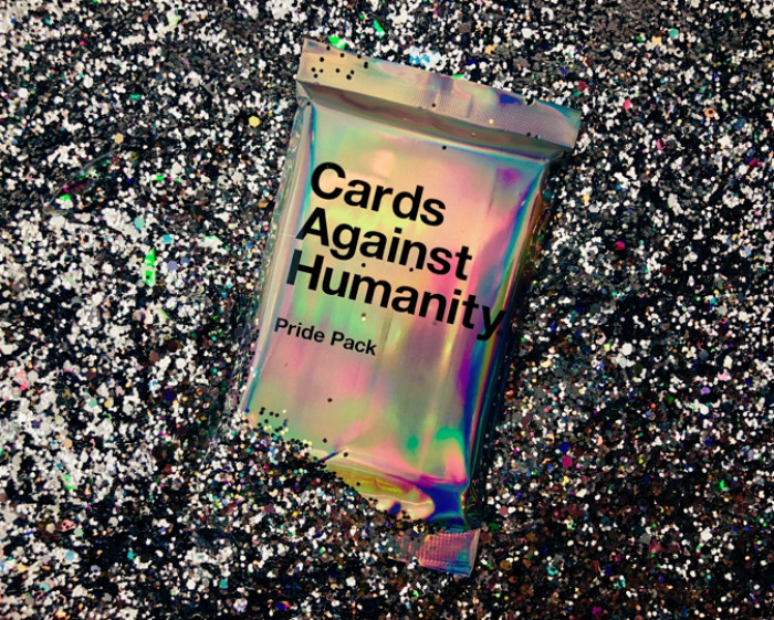 Cards Against Humanity released a Pride pack for the month of June that came with a small amount of glitter.
