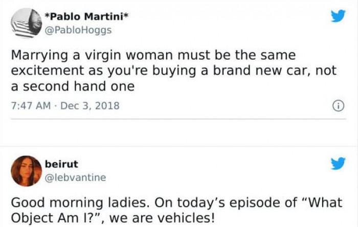 17. Ladies?