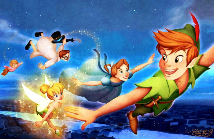 8. Peter Pan-you can fly!