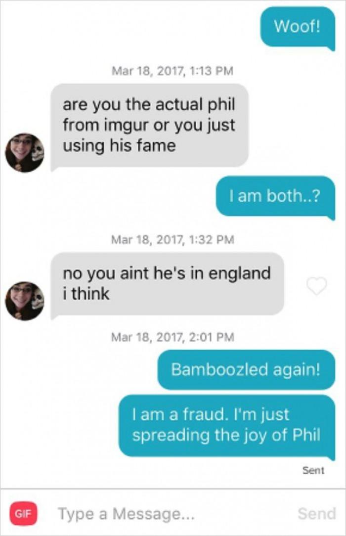 He's A Fraud!
