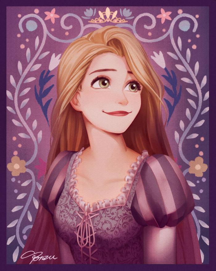 12. Rapunzel