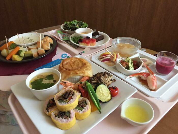 7. Hospital food