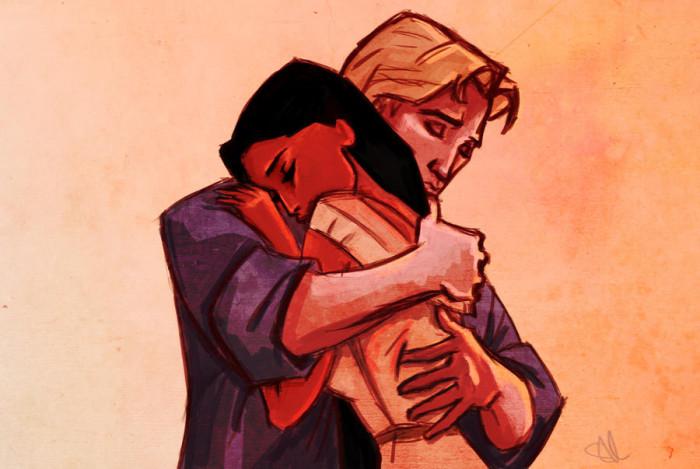 2. Pocahontas and John Smith