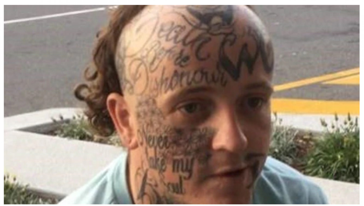 Aussie Bloke With A Mullet And Face Tattoos On The Run After Stealing Vibrators