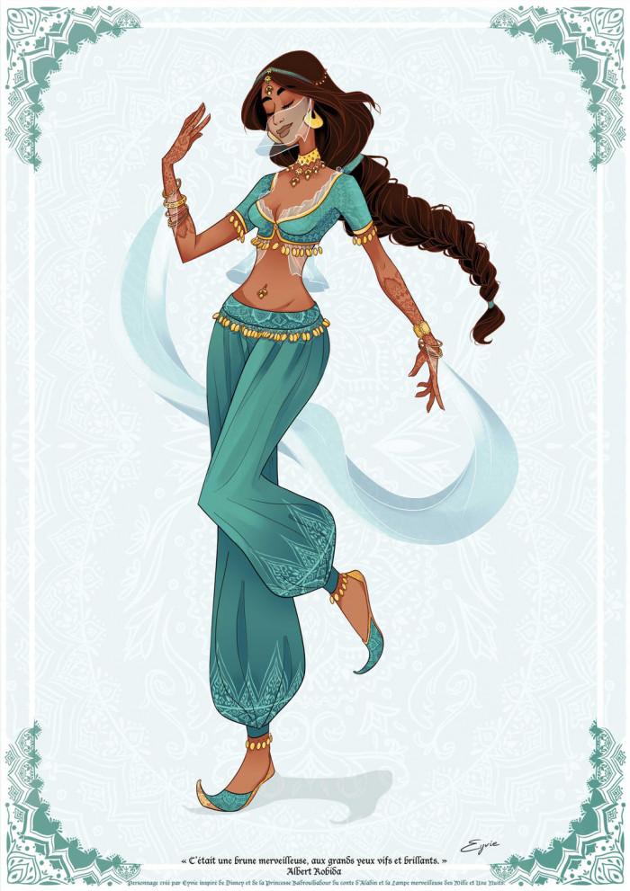 8. Jasmine, Aladdin