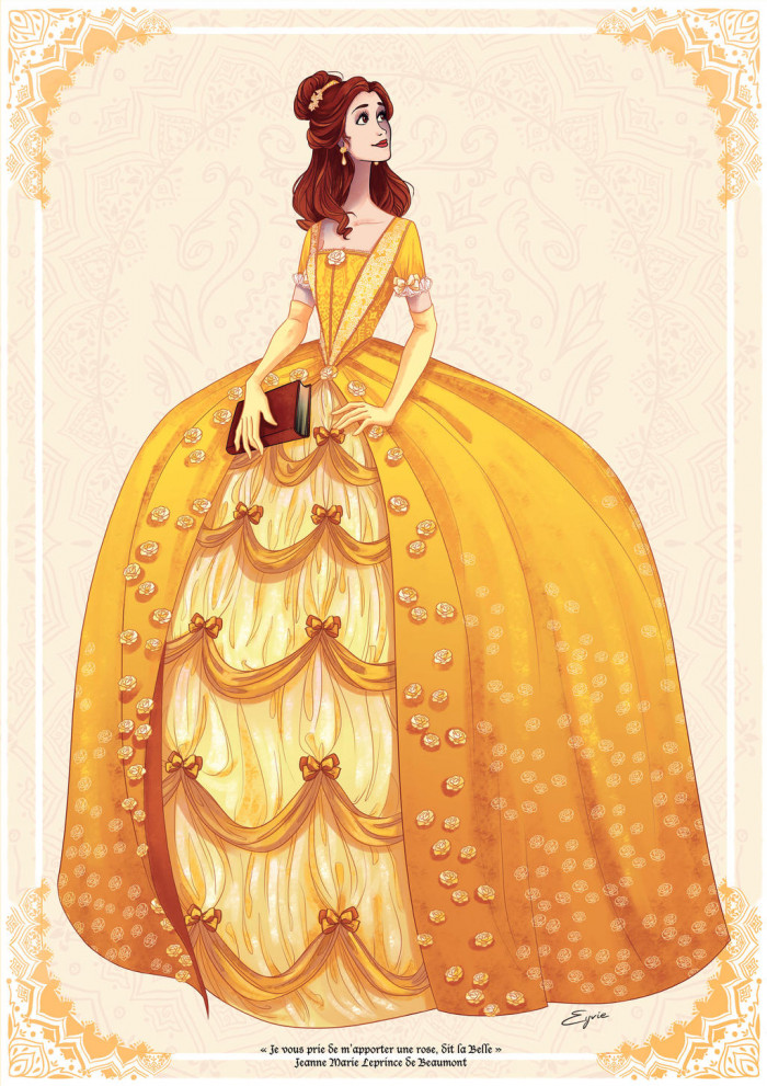 4. Belle, Beauty and the Beast