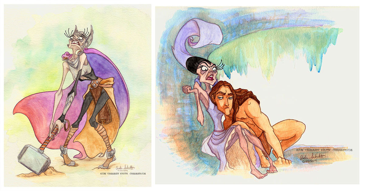Artist Places Disney Villain Yzma In Iconic Movies Instead Of Other Characters And It's Brilliantly Hilarious
