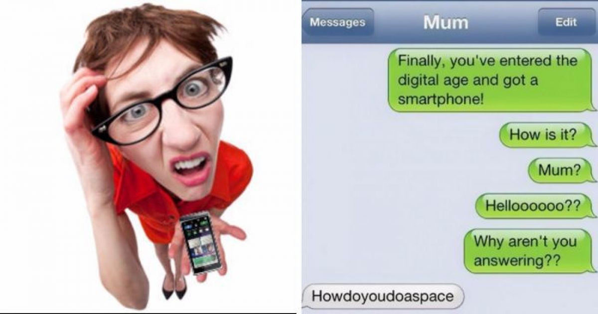 10+ Moms Who Shouldn't Really Be Allowed Phones
