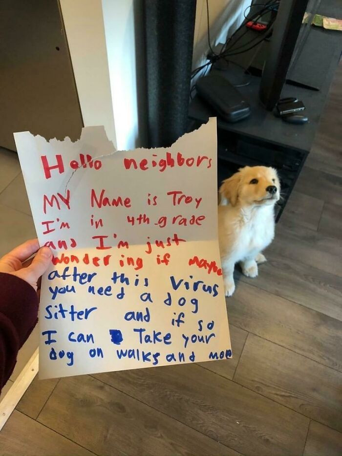 The cutest offer ever!