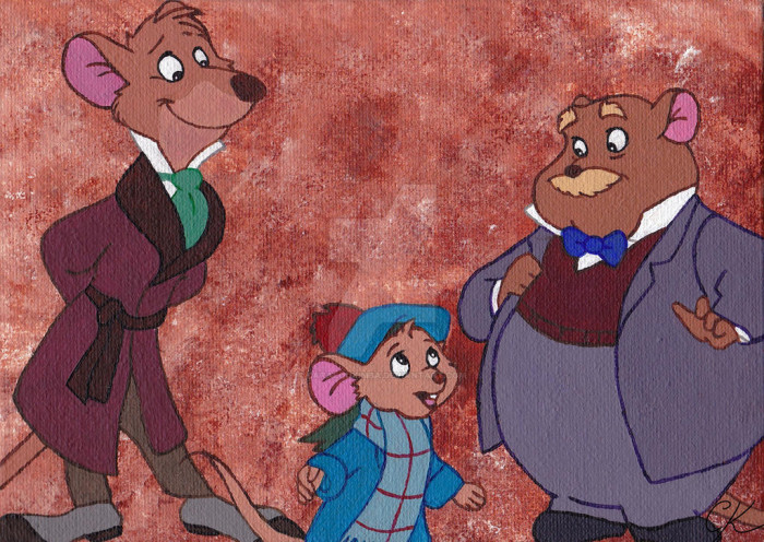 4. Basil The Great Mouse Detective
