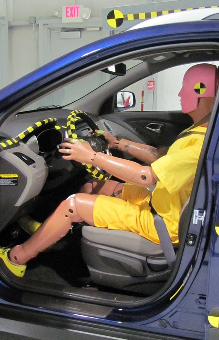 Car crash dummies are built with a male standard, meaning that in car crashes, women are almost 50% more likely to be seriously injured than men.
