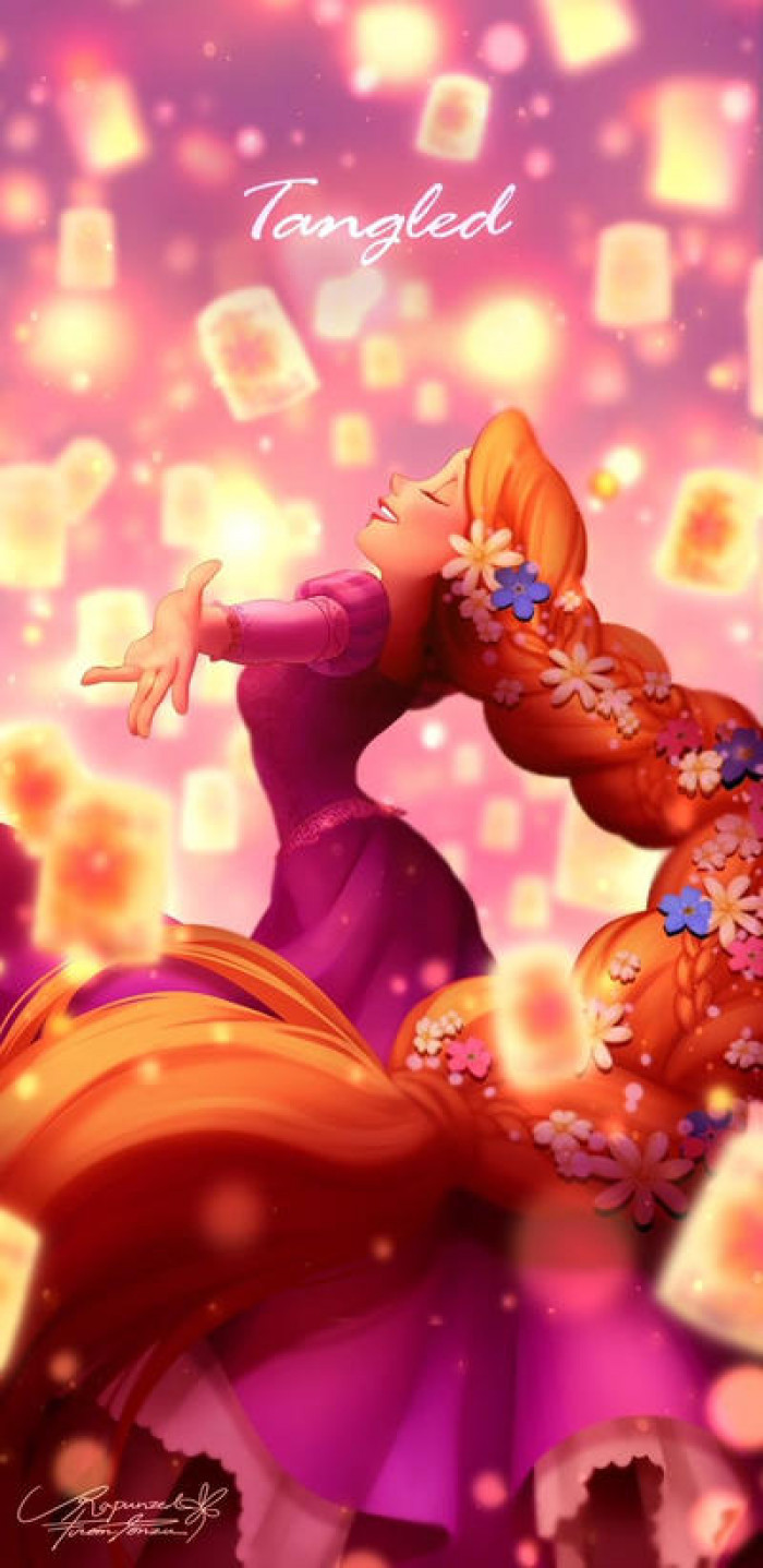 18. Dreamy Rapunzel