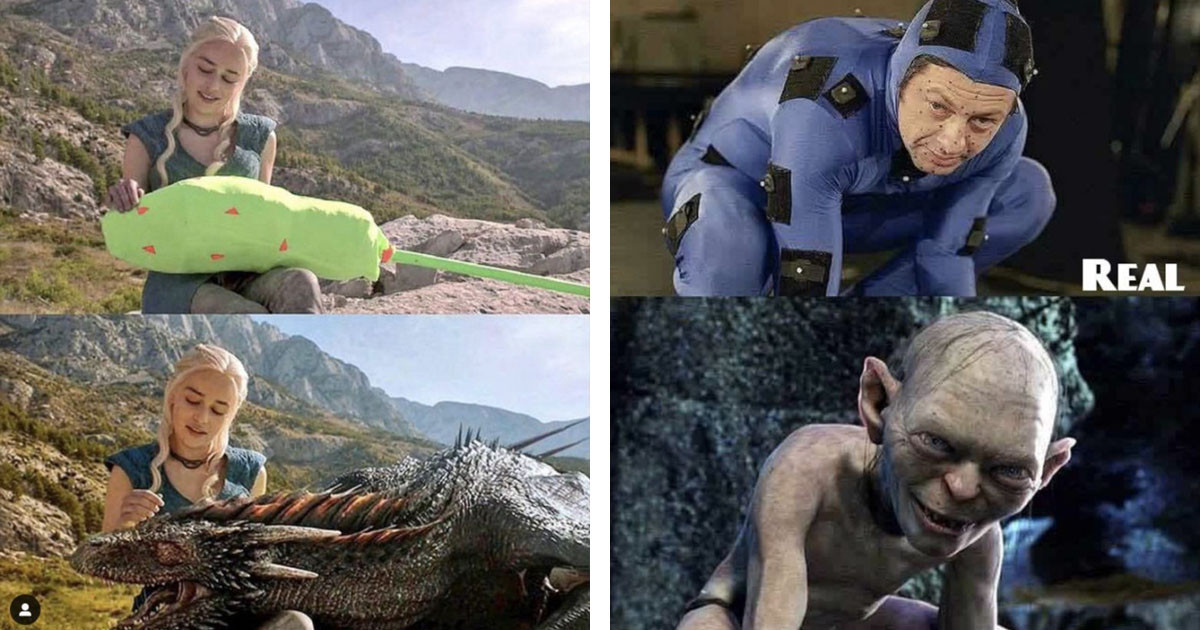 Behind the Scenes Instagram Account Shows How Special Effects are Achieved