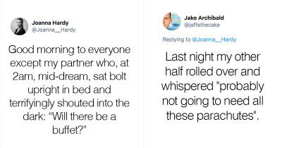 40 Hilarious Things People Said In Their Sleep