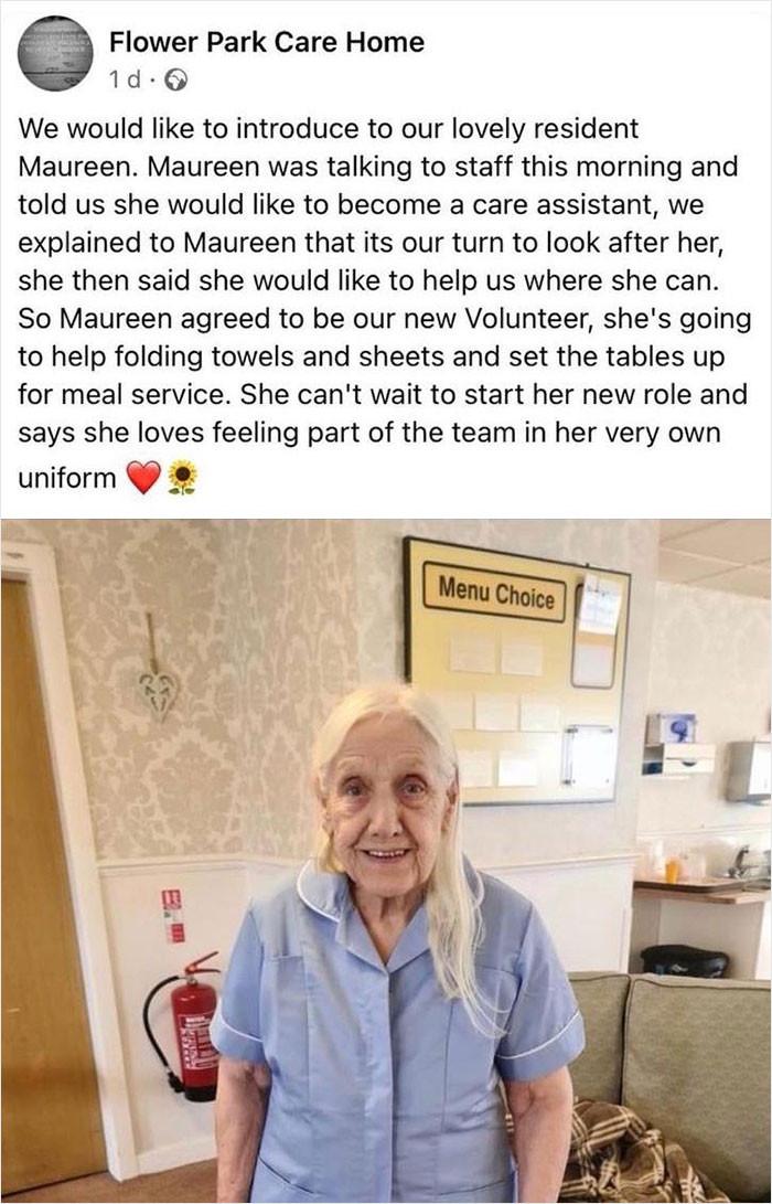 20. Bravo, Maureen!