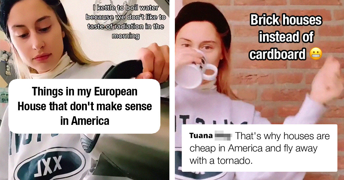 """""""Things In My European House That Don't Make Sense In America"""" – A Viral Video That Roasts American Households Caused Quite A Stir On The Internet"""