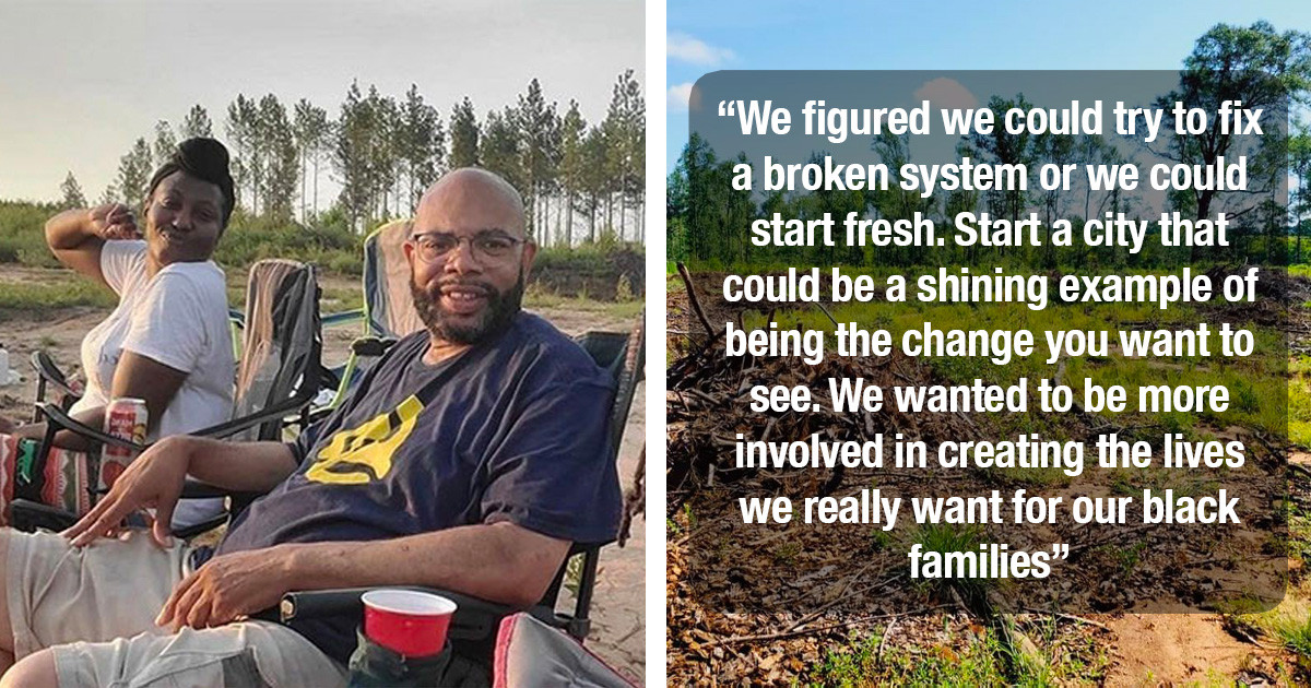 19 Black Families Buy 97 Acres Of Land In Georgia Where They Plan To Build Their Own Safe City