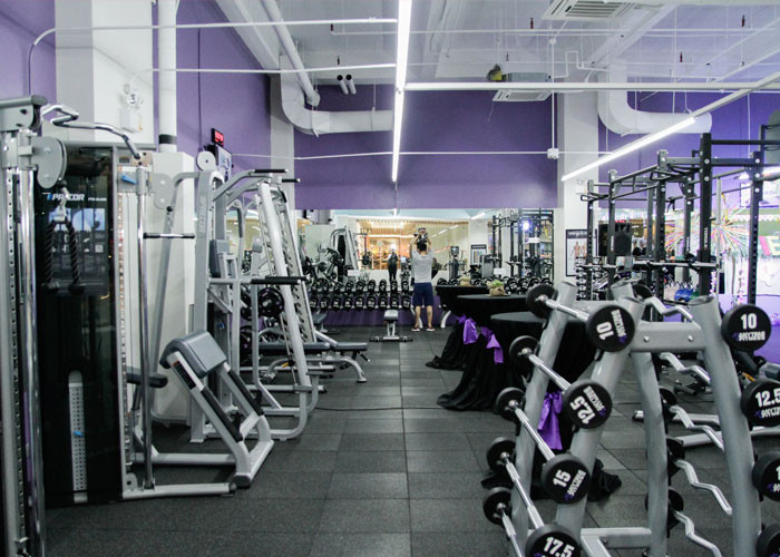 Equipment at the gym - there's a lot of machines women can't use because they can't be adjusted to them properly.