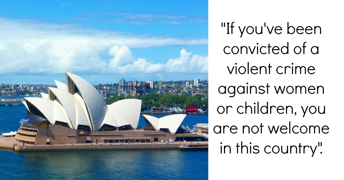 People Are Being Barred From Entering Australia if They Have a Domestic Violence Record