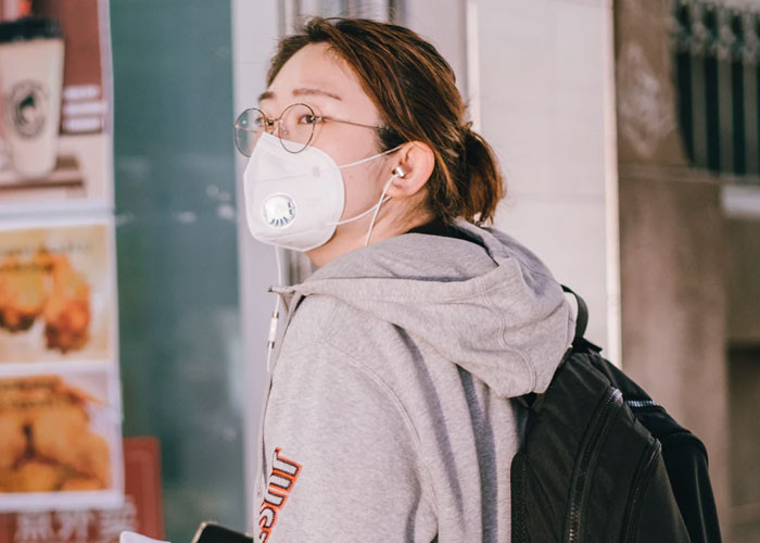 N95 masks often don't properly fit the faces of women and Asian people, they're designed for the dimensions of an average male face.