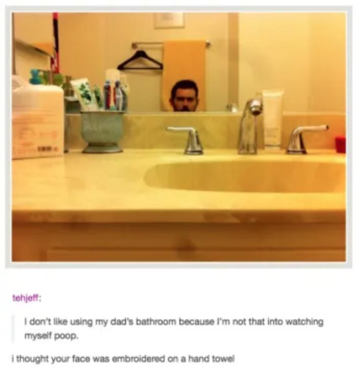 2. It would make a really creepy towel