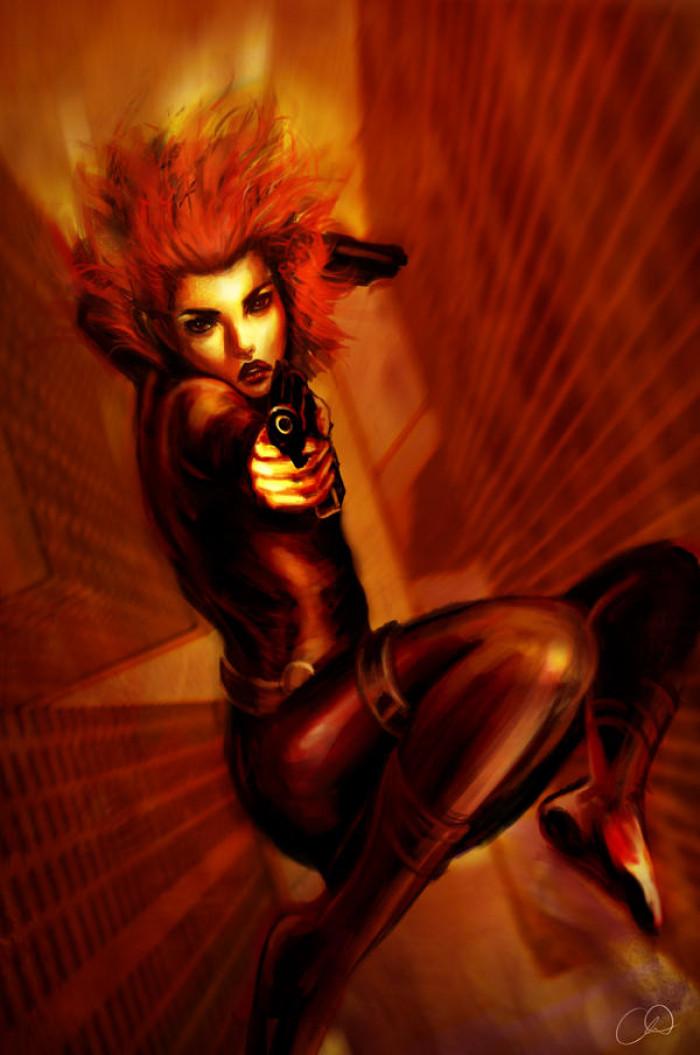 13. Black Widow