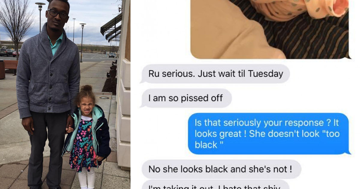 Racist Mom Exposed After Getting Furious At Her Baby's Black Father For Braiding Their Daughter's Hair
