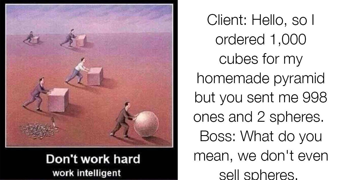 """This Guy Decided To Debunk The Motivational """"Don't Work Hard, Work Smart"""" Poster"""