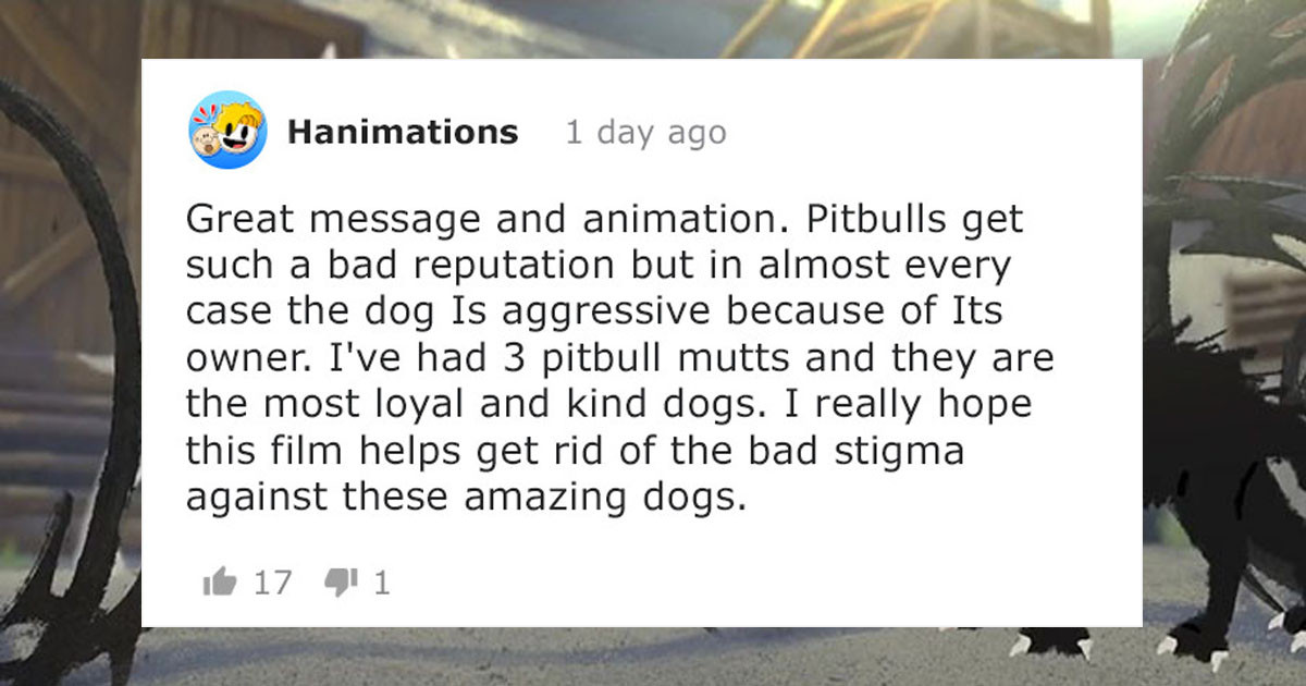 Pixar Short About the Friendship Between Abused Pitbull and Stray Kitten Has Given People The Feels