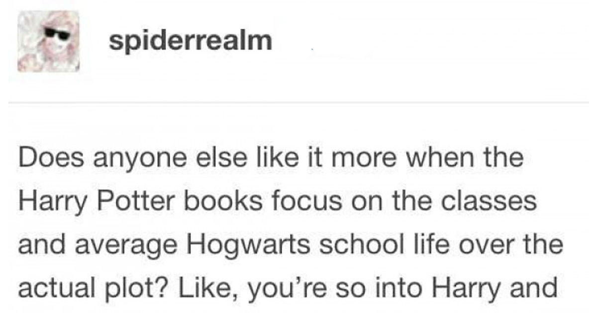 Things Only Harry Potter Fans Who Loved The Books Will Understand