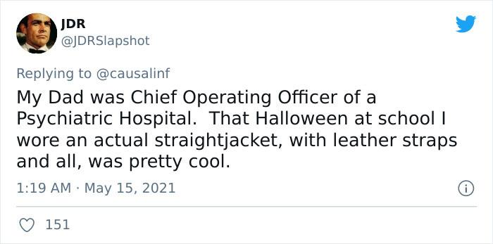 A straight-jacket!