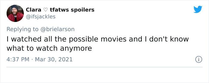 No more movies!