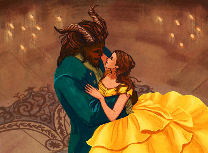 1. Beauty and the Beast